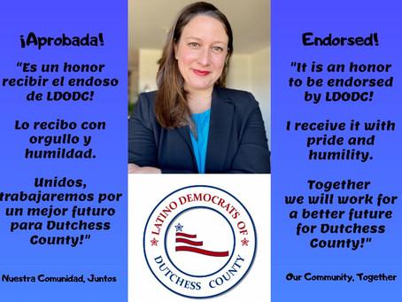 Latino Democrats of Dutchess County Endorse our Campaign!