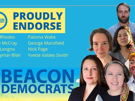 Endorsed by Beacon Democrats!