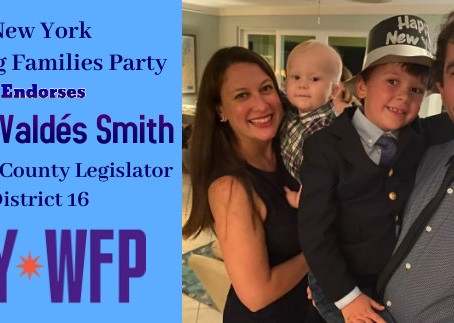 New York Working Families Party Endorsement