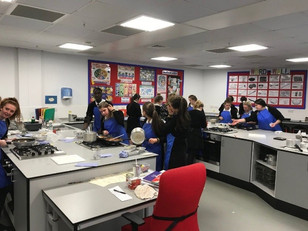 Sixth Form Cookery