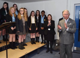 Notre Dame Chamber Choir Sing for HRH Prince Charles