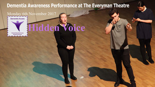 Notre Dame leads 5 Schools in City Wide Dementia Awareness Performance at The Everyman Theatre.