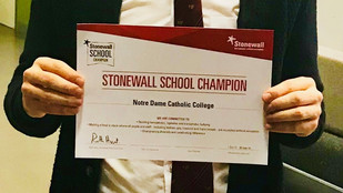 Notre Dame A Stonewall School Champion