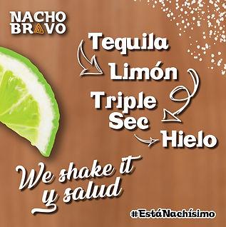 Margaritas 2x1 nacho