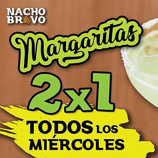 Margaritas 2x1