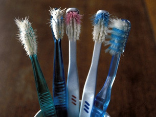 Replacing your toothbrush regularly will keep your mouth cleaner