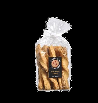 Guggenloch Butterflûtes mit Sesam