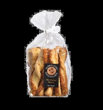 Guggenloch Butterflûtes mit Käse