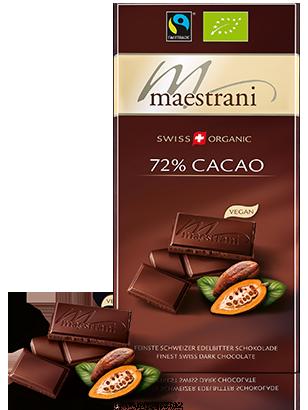 Maestrani Nuss-Mix 72% Cacao