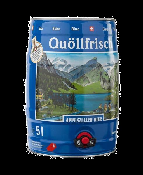 Appenzeller Bier Quöllfrisch Fass