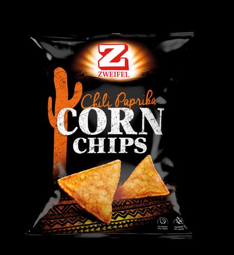 Zweifel Corn Chips chili paprika