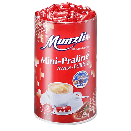 Munzli Mini-Praliné Swiss Edition