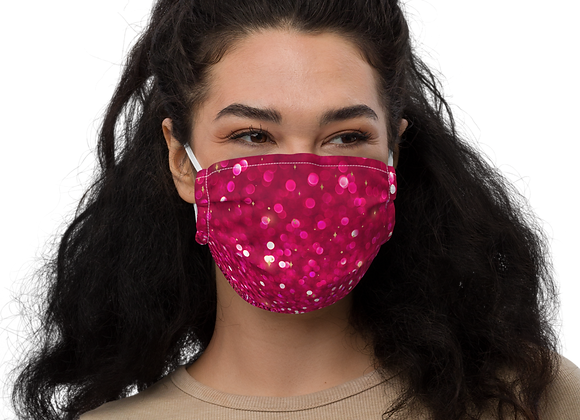 The PINK Out Friendmas Christmas Face mask