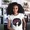 Thumbnail: Pink Afro Curls Ladies Tee