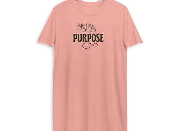Sisters with Purpose Classic Organic Cotton T-shirt Dress