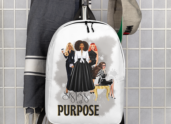 Sisters with Purpose Minimalist Backpack