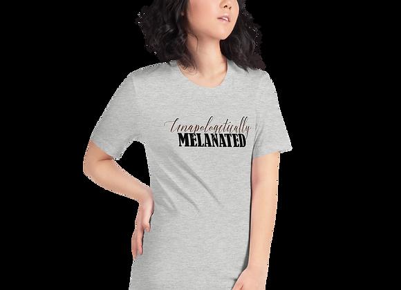 Unapologetically Melanated Short-Sleeve T-Shirt