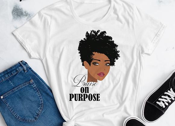 Praise on Purpose Women's short sleeve t-shirt