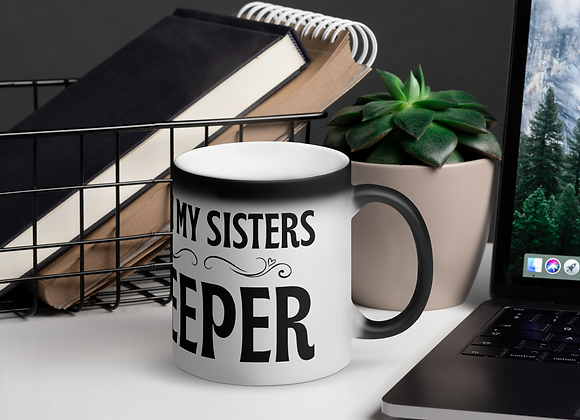 Sisters with Purpose Ombre` Matte Magic Mug