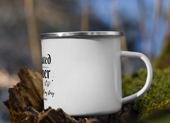 Designated Dreamer Enamel Mug