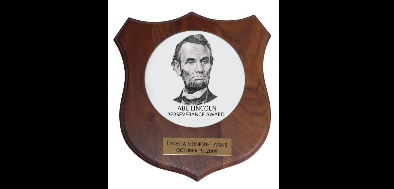Abe Lincoln Perseverance Award