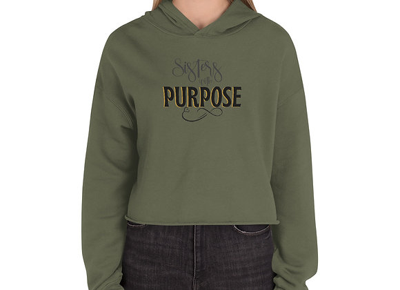 Sisters with Purpose Classic Crop Hoodie