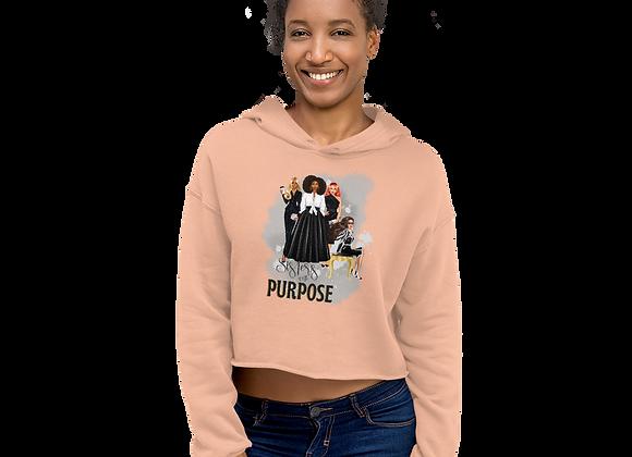 Sisters with Purpose Crop Hoodie