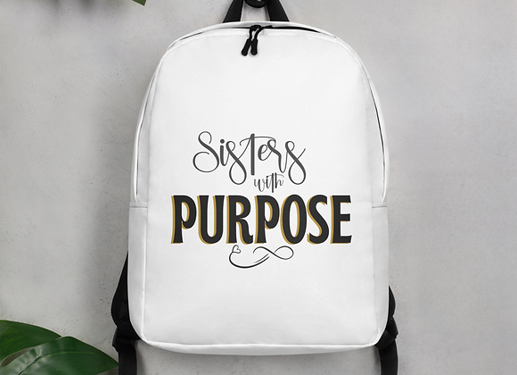 Sisters with Purpose Classic Minimalist Backpack