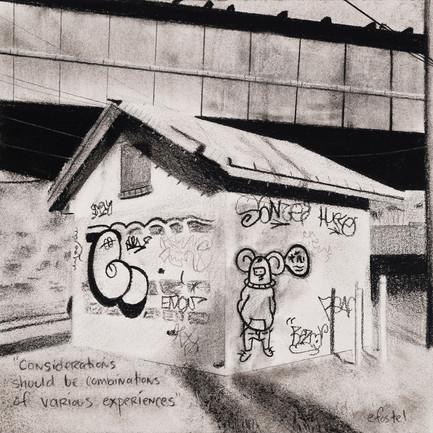 """Little Graffiti House"""