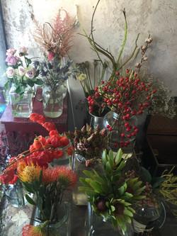 Kavanoz Kafe Çiçekler