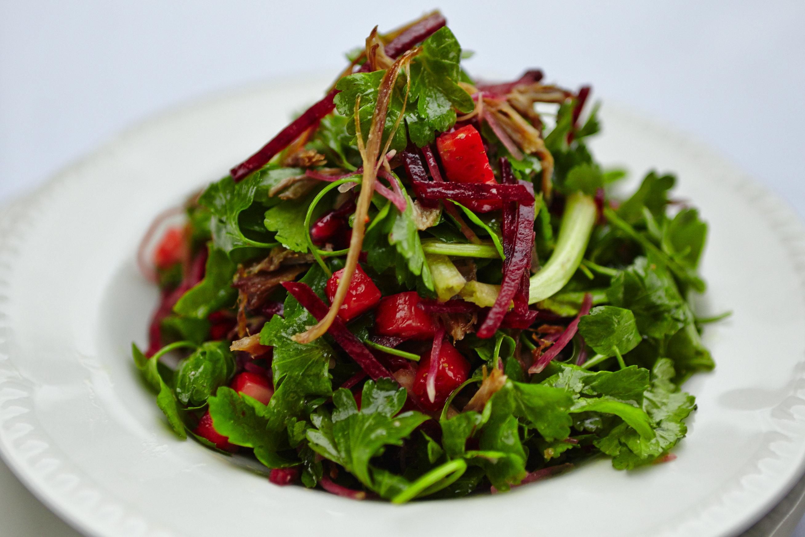 Ördek Confit Salata