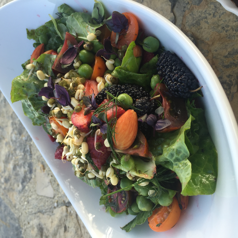 Grandmas Wonderland Raw Salad