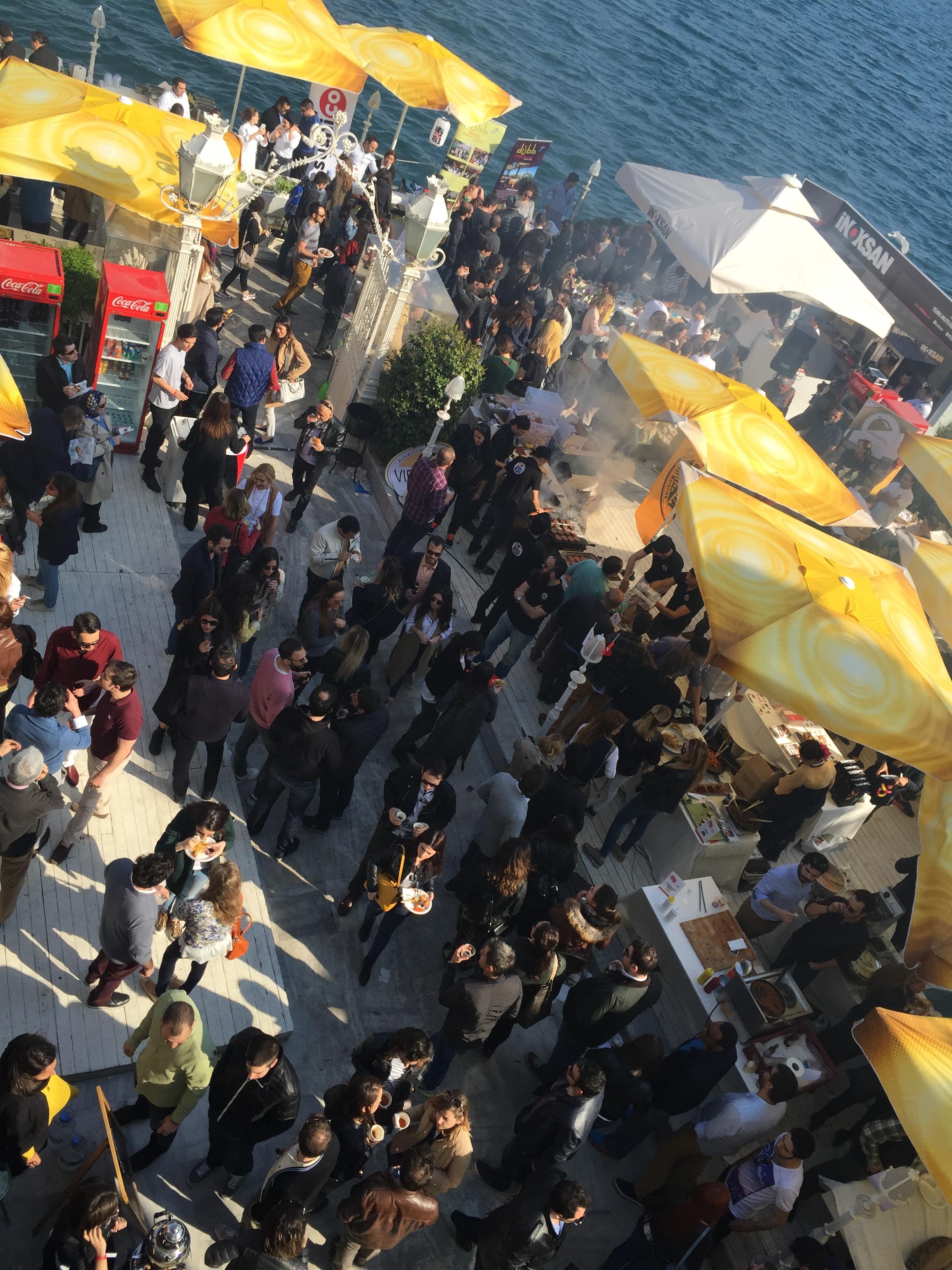 101 Lezzet Festivali Genel Görünüm