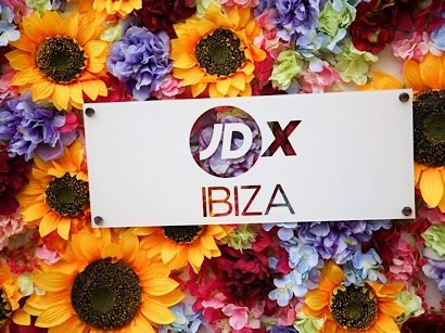 Out in Ibiza shooting with JD Sports