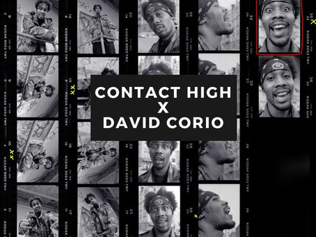 Filming David Corio - Contact High Project