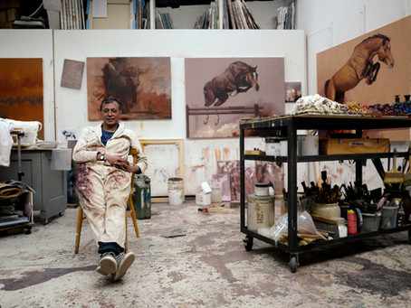 Zil Hoque Interview on T5 Gallery Heathrow