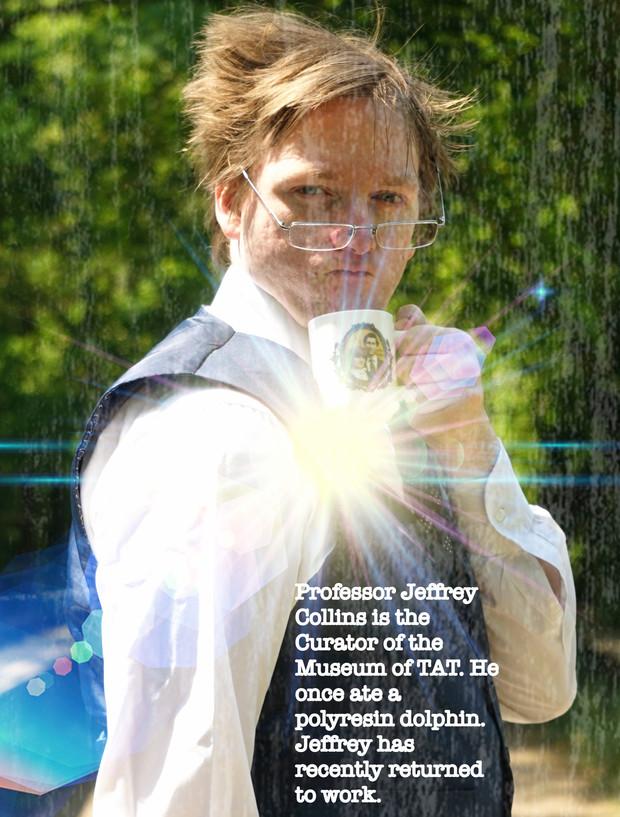 robert crighton in 'museum of tat'