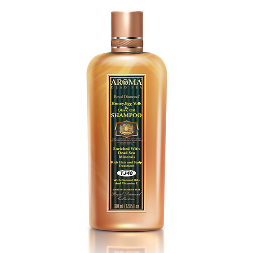 Honey & Egg yolk & Olive Oil Shampoo 380ml TJ48