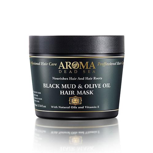 Black Mud & Olive Oil Hair Mask 500 ml PM58