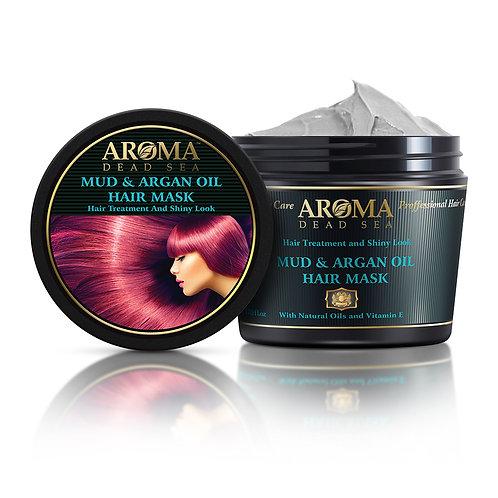 Black Mud & Argan Oil Hair Mask 500 ml PM60