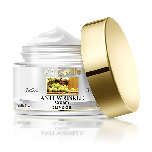 Anti Wrinkle Cream with Olive Oil for all skin types