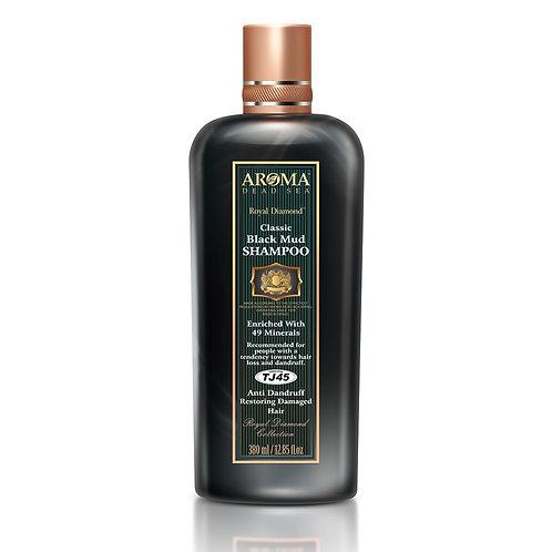Therapeutic Anti Dandruff and Hair Loss Black Mud Shampoo 380 ml TJ45