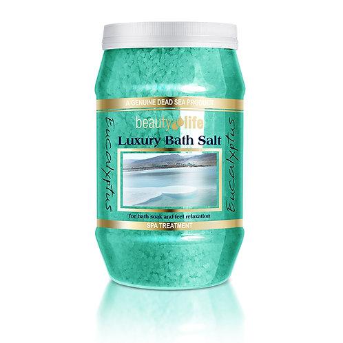 Ароматическая соль для ванн 1,3 кг Эвкалипт