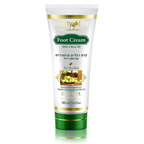 Foot Cream with Olive Oil 180 ml