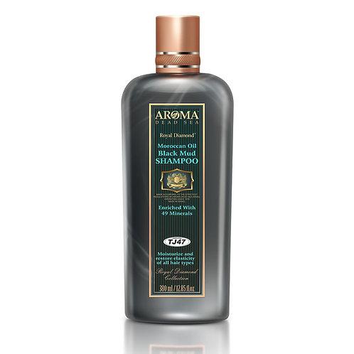 שמפו בוץ עם שמן ארגן (מרוקאי) לטיפול בשיער ובקרקפת