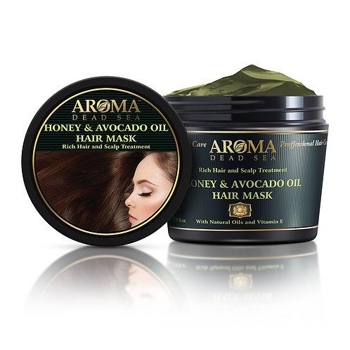Μάσκα μαλλιών με μελί και έλαιο αβοκάντο 500 ml
