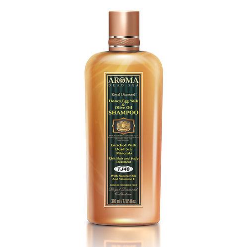 Θεραπευτικό σαμπουάν μαλλιών με μέλι, κρόκο αυγού και ελαιόλαδο 380 ml