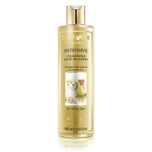 Intensive Shampoo With Natural Chamomile Ext and Dead Sea Minerals