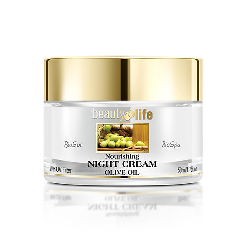 Nourishing Night Cream with Olive Oil for all skin types