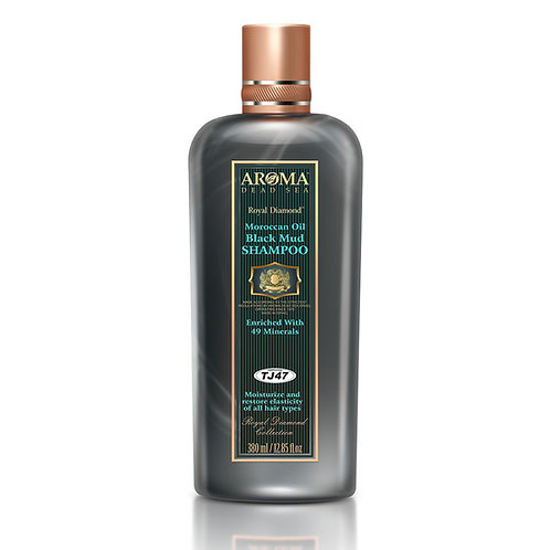 Θεραπευτικό σαμπουάν με μαύρη λάσπη της Νεκράς Θάλασσας και έλαιο Αργκάν 380 ml